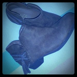 Women's SUGAR brown boots, size 9.5 EUC